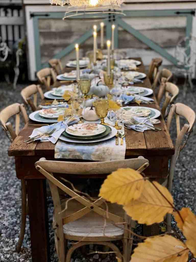 WM Design House tablescape