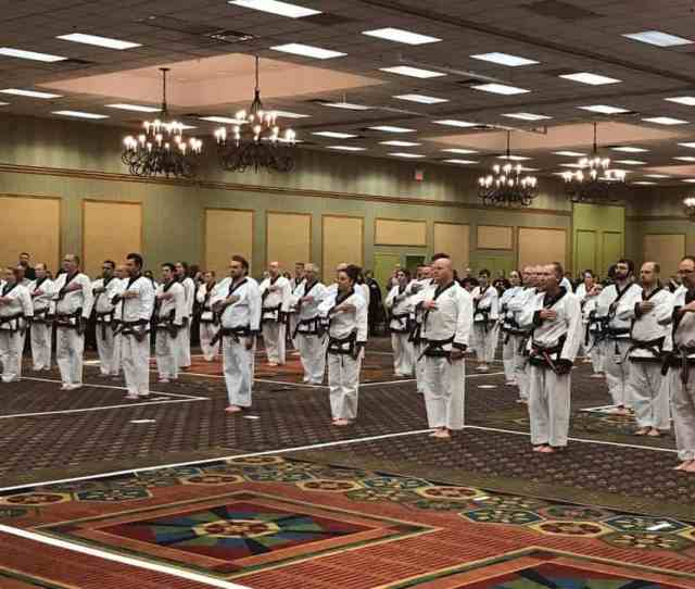 Usa Region 5 Holds Regional Dan Shim Sa Clinics And Tournament
