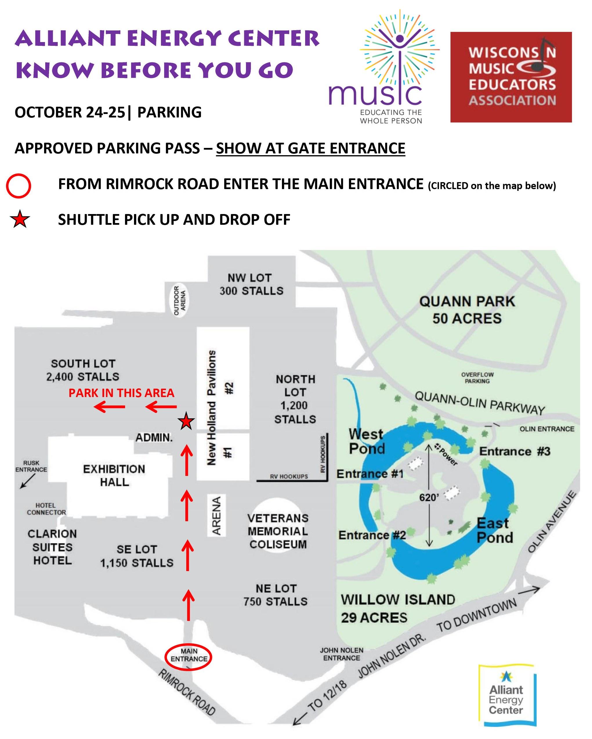 Map & Parking Pass