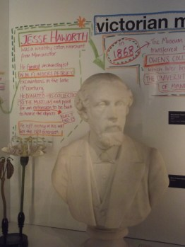 Jesse Haworth funded Flinders Petrie's excavations and the building of a dedicated space at Manchester Museum for Egyptian artefacts