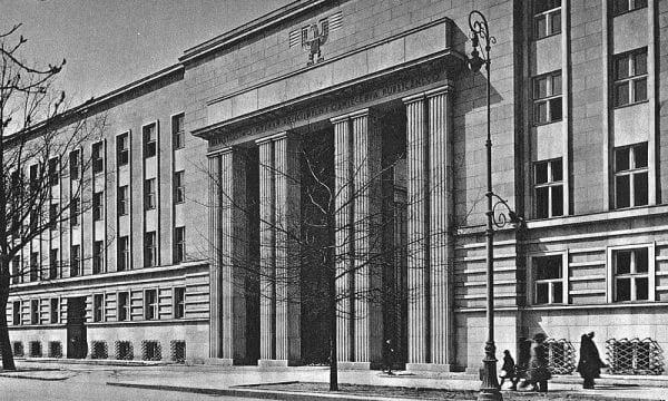 Siedziba Gestapo w Warszawkie wikimedia Henryk Poddębski