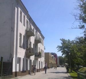 Kamienica przy ul. Planty 7 w Kielcach, w której miał miejsce pogrom 37 Żydów