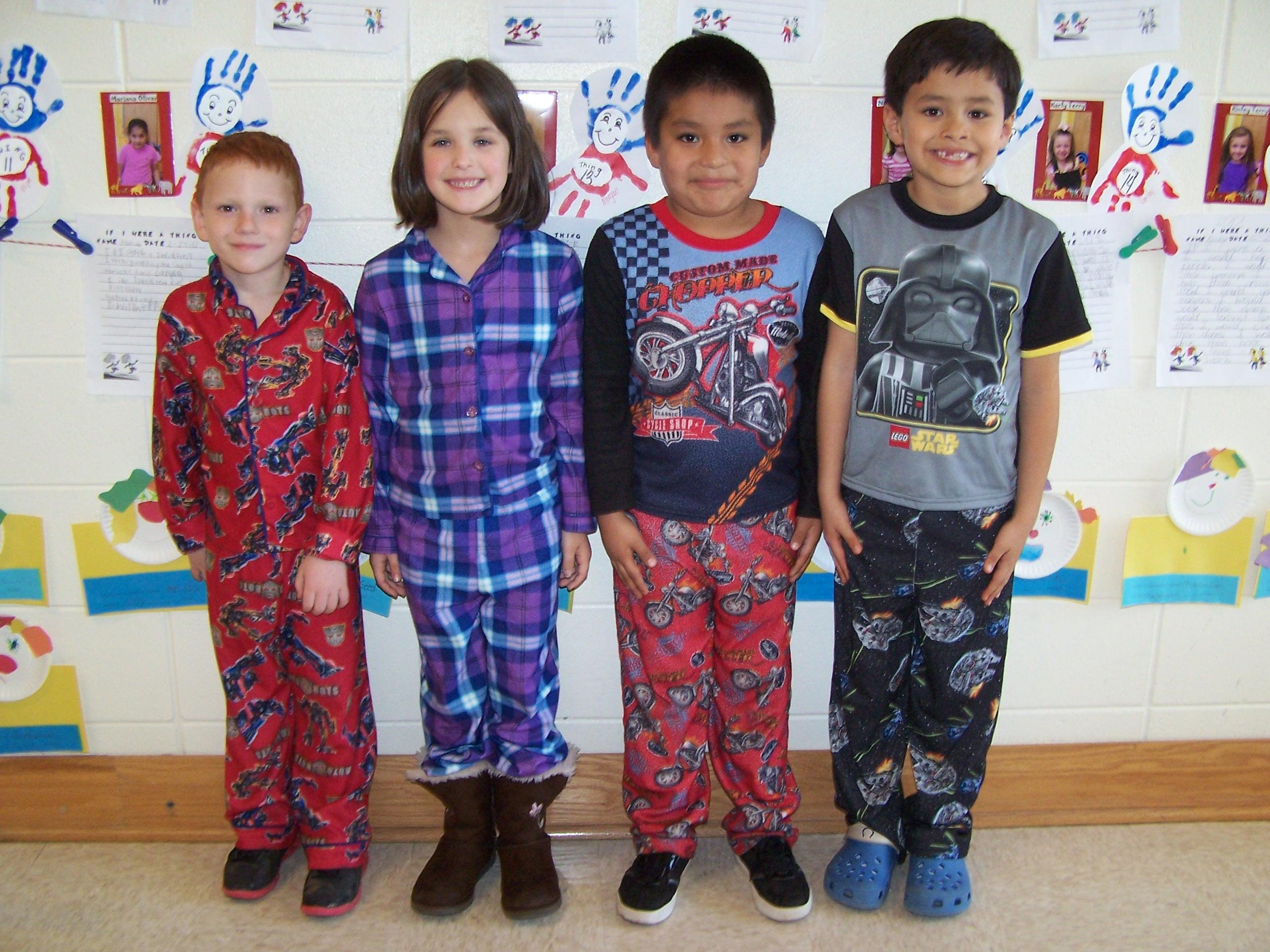 Pajama Day At Wmes