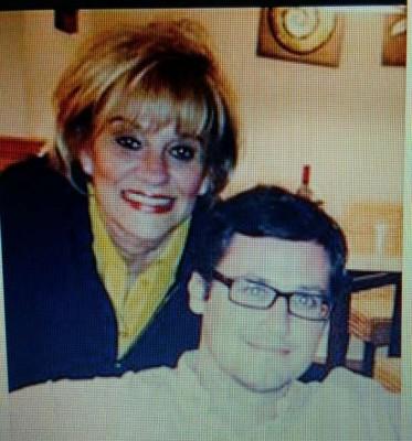Bertica Cabrera Morris and her son, Peter Crespi.