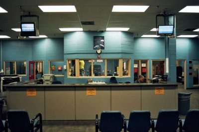 Most kids who are stopped by the police are taken to the intake area at Orange County's Juvenile Assessment Center in downtown Orlando, once a hub for juvenile arrests. Photo: Joey Roulette.