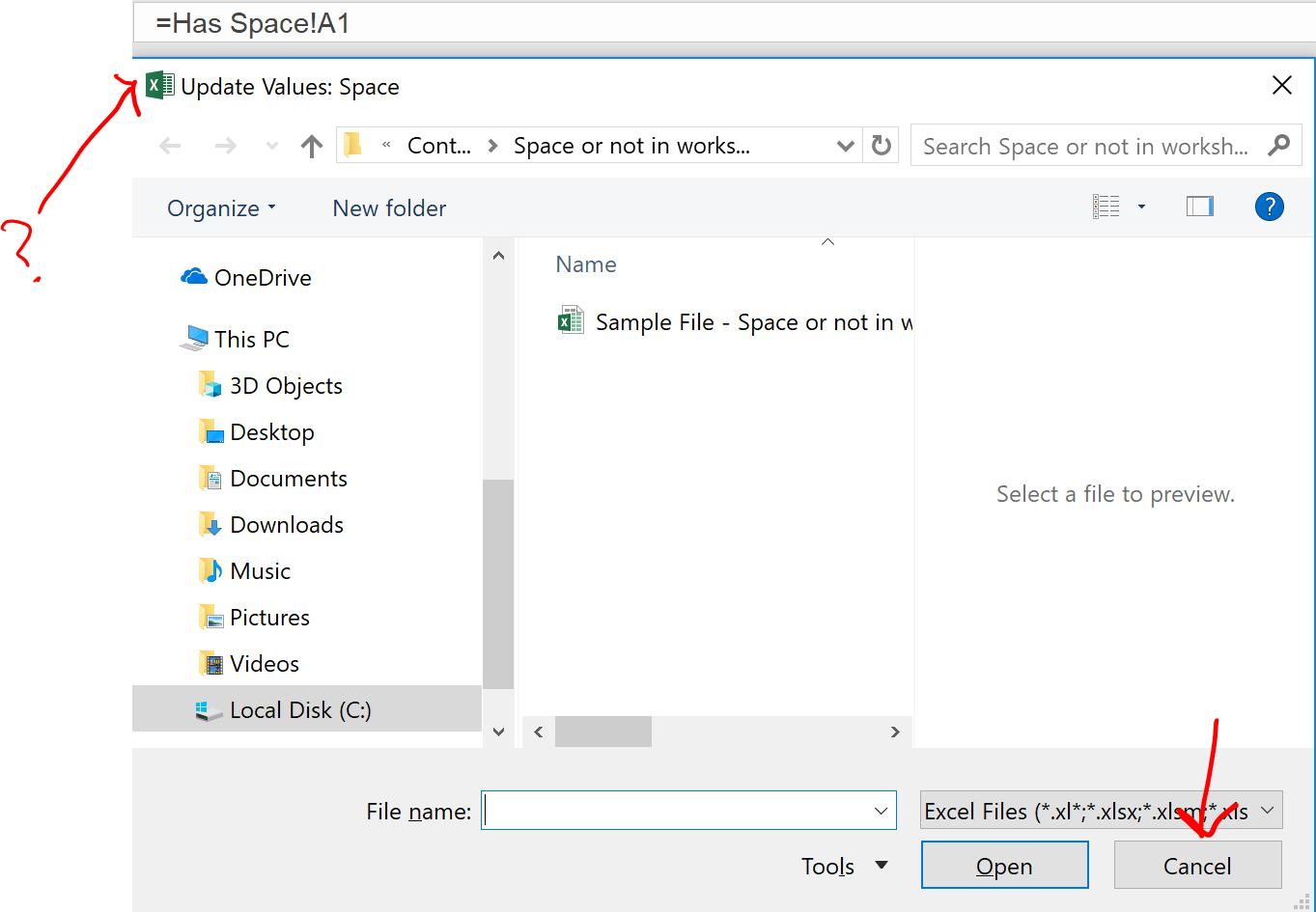 Excel Tips Space In Worksheet Name3