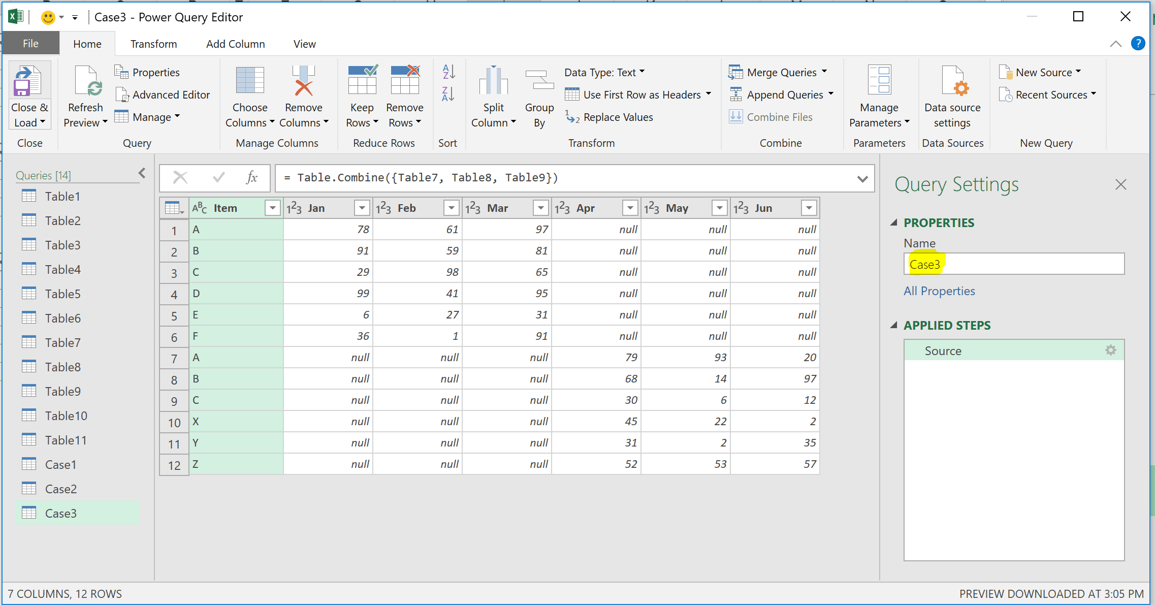 No More Copy And Paste To Combine Tables With Powerquery