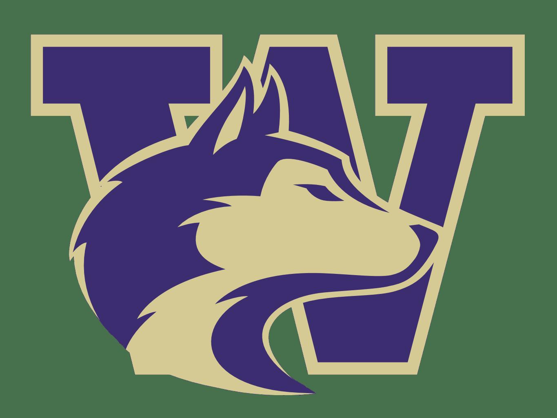 Image result for washington huskies logo blank background