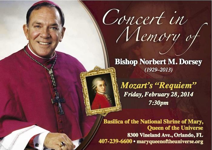 Mozart RequiemPostcard