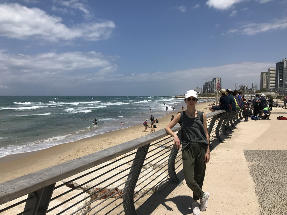 Day 1 in Israel, before indigestion took over my life