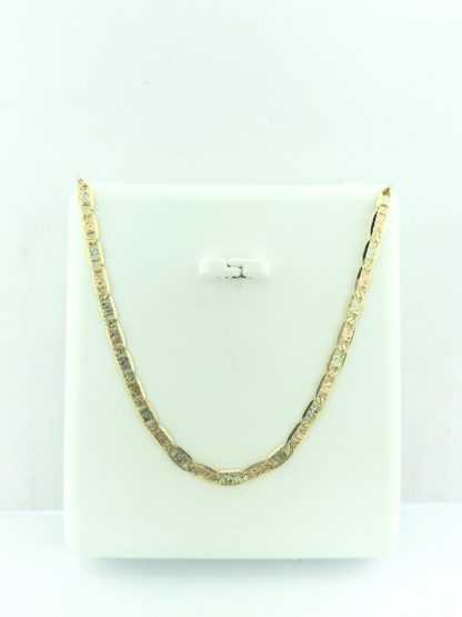 """14K YELLOW GOLD NECKLACE/3.0G/18"""""""