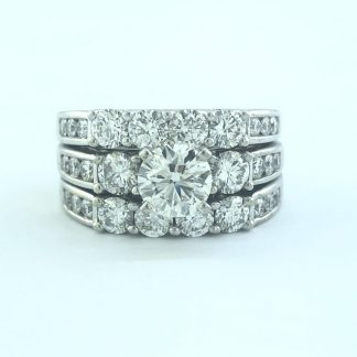 GSI Certified Diamond Ring
