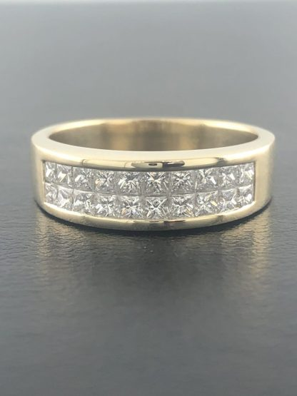 """14K YELLOW GOLD MENS BAND/6.4G/SIZE 8"""""""