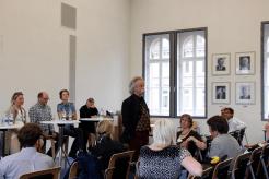 WPK-Gründungsmitglied Jean Pütz stellt sich vor (Foto: Tanja Schmith)
