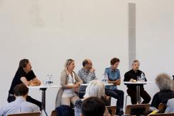 Lars Fischer (r.) gab einen Einblick in seine Nutzung von Blogs als Informationsquelle und Publikationsmöglichkeit (Foto: Tanja Schmith)