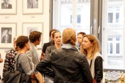 Studierende fragen JournalistInnen (Foto: Tanja Schmith)