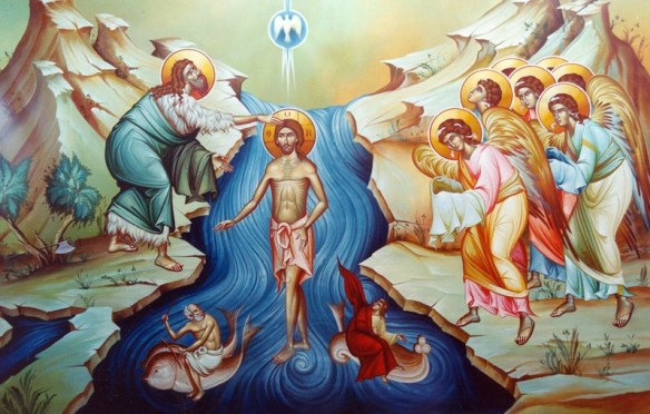 The Holy Theophany, also known as the Baptism of Our Lord