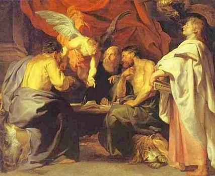 The Four Evangelists, by Rubens