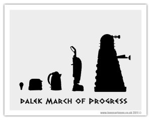 The Dalek March of Progress