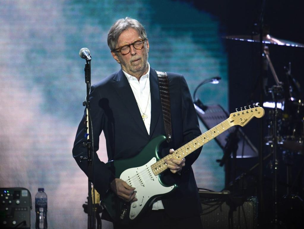 Eric Clapton says he will not play at venues that require proof of vaccination: 'I will not perform on any stage where there is a discriminated audience present'