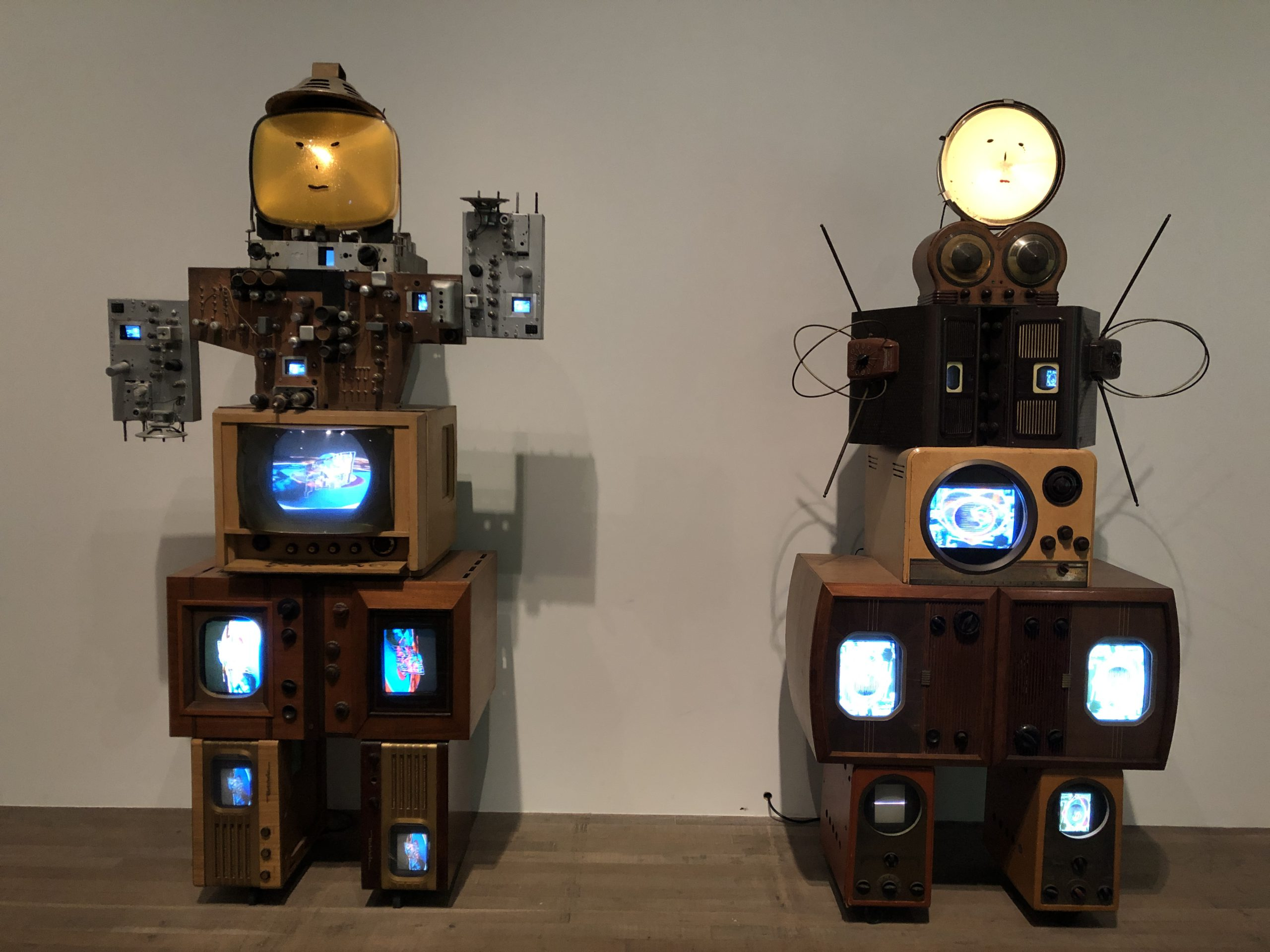 Image of artwork titled Aunt and Uncle by artist Nam June Paik