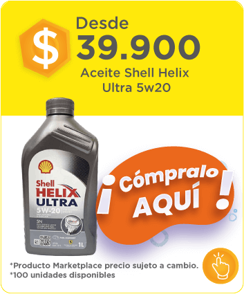 Aceite shell helix ultra desde 5w20 39900