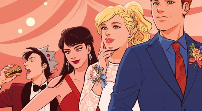 Archie goes to prom in issue #30, out April 25