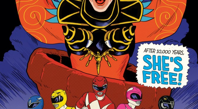 Preview BOOM's 'Go Go Power Rangers' #9, out May 2