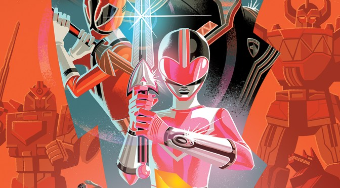 Preview BOOM's 'Mighty Morphin Power Rangers' 2018 annual, out April 25