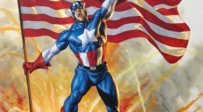 Marvel begins rolling out variants for new Captain America volume