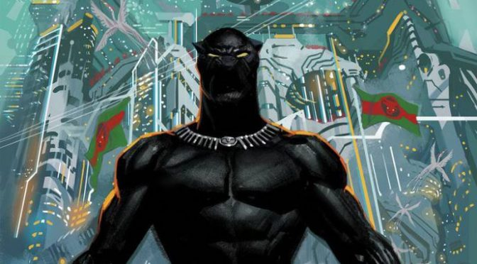 Check out covers for Marvel's 'Black Panther' #1, out May 23