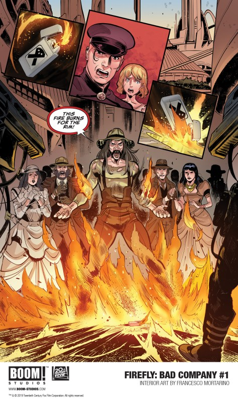 Preview BOOM's 'Firefly: Bad Company' one-shot, out March 20 - WMQ