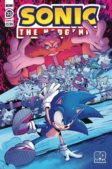 Stanley To Take Over Writing Idw Sonic Comic To Make Way For Bad Guys Wmq Comics