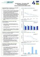 November 2008 economic downturn briefing paper