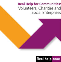 Real help for communities logo