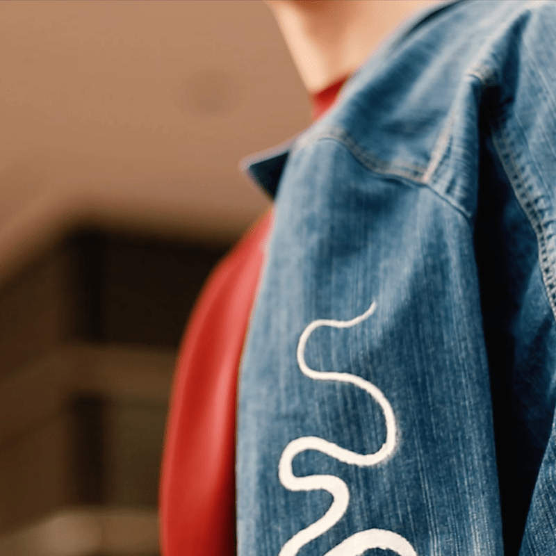 Denim Embroidered – BTS