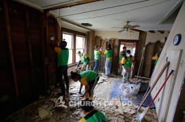 WV, West Virginia Flooding, World Mission Society Church of God, wmscog, volunteers, disaster relief, cleanup, Church of God