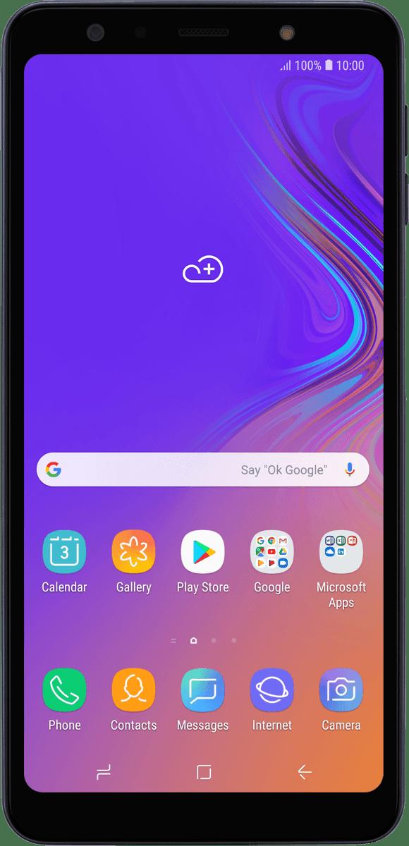 Samsung Galaxy A7 (2018) - Calls and contacts | Vodafone UK