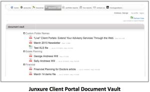 Junxure Client Vault