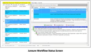 Junxure Workflow Status