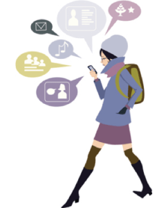 Millennial Walking