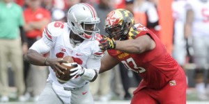 The Terps could not control Ohio State in their inaugural Big Ten home game Saturday. (Courtesy of UMTerps.com)