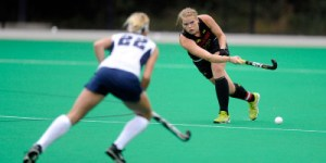 Senior defender Sarah Sprink led the Terps way with two goals on Sunday. (Courtesy of UMTerps.com)