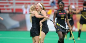 The Terps continue their win streak with an 8-1 victory over American University. (Courtesy of UMTerps.com)