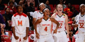 The Terps cruised past Mt. Saint Mary's in a 107-45 win. (Courtesy of UMTerps.com)
