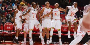 The Terps cruised to a 94-50 victory over American University on Friday night. (Courtesy of UMTerps.com)