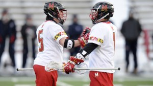 A total of nine players scored in the Terps 13-4 blowout over Robert Morris. (Courtesy of UMTerps.com)