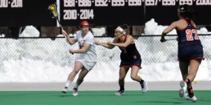 The No. 1 Terps defeat No. 5 Syracuse in a rematch of last years national title game. (Courtesy of UMTerps.com)