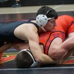 Maryland wrestling unable to end losing streak against No. 23 Navy