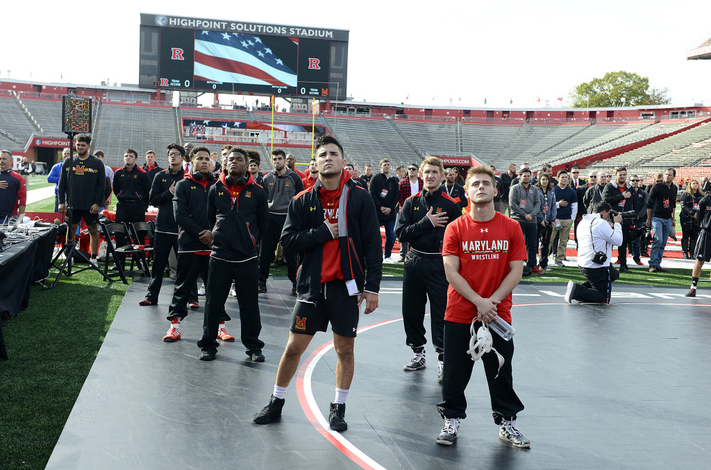 Maryland wrestling drops third straight Big Ten bout